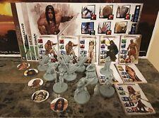CONAN + BELIT + SHEVATAS + HADRATHUS + 6 Allies - Conan Miniatures Kickstarter