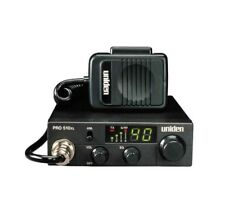 UNIDEN PRO510XL COMPACT 40 CHANNEL CB RADIO WITH FRONT MIC JACK