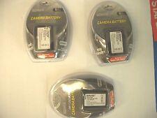 3X NP-FW50 Batteries for Sony Alpha NEX3 NEX5 NEX6 NEX7 SLT-A33 SLT-A35 SLT-A37
