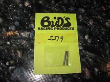 Vintage RC Super Machine Front End Pan Car King Pins BRP Buds (2) 5519