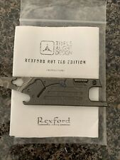 Rexford Rut for TAD gear Triple Aught Design TOPO V3 Utility Knife / Multi Tool