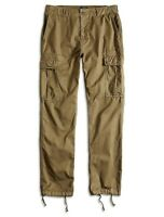 Lucky Brand Men's Cotton Twill Military Cargo Pants Fern Green NEW 32x30