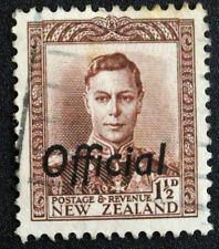 Stamp NEW ZEALAND / Stamp NEW ZELAND - Y&T service n°85 (a) obl (Cyn22)