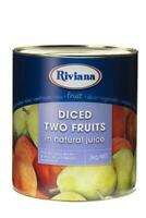 3kg Riviana South African Two Fruits In Natural Juice - QUCIK SHIPPING