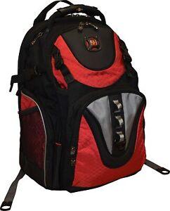 """SwissGear Maxxum Heavy Duty Backpack School Hiking 16"""" Laptop Pocket Carry-On"""