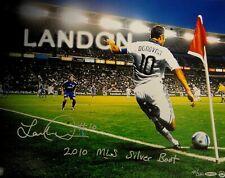 Landon Donovan Hand Signed Autographed 16x20 Photo 2010 Silver Boot Award  x/110