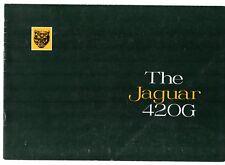 Jaguar 420G 1968-70 UK Market Sales Brochure Mark Ten Mk X