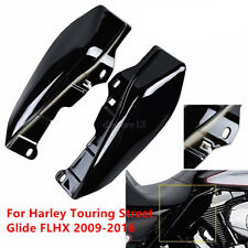 Mid-Frame Air Heat Deflector Trim Accents Shield For Harley Touring Street Glide