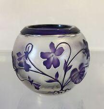 Art Nouveau ,Vase du Val Saint Lambert signé