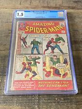 Amazing Spider-Man #4 (CGC 1.5) 1st app. Sandman and Betty Brant; Ditko