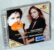 CD SCHUBERT - Complete Works for Violin and Oiano - Julia Fischer / M. Helmchen
