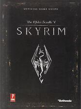 Elder Scrolls V: Skyrim : Prima Official Game Guide  NEW   PRICE REDUCED