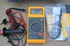 Fluke 27 Multimeter with HV Probe 80k-6 fluke 85 RF AC probe and Meter leads