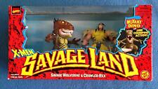 X-MEN SAVAGE LAND STRANGE LAND SAVAGE WOLVERINE AND CRAWLING-REX MARVEL COMICS