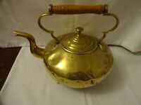Old Brass Teapot height 19 cm x 25 cm