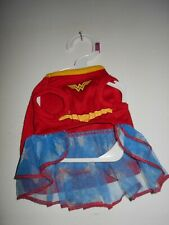 SIZE XS Female Pet FUN Halloween Costume NEW W/Tag Wonder Woman Superhero Outfit