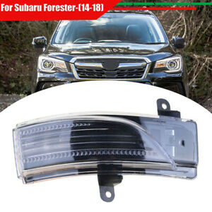 Right Side For Subaru Impreza Forester Outback WRX Mirror Turn Signal Light Lamp