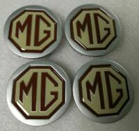 New Genuine MGF MG TF Alloy Wheel Centre Caps DTC100630 54mm X 4