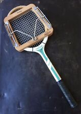 "Racchetta DA TENNIS RETRÒ VINTAGE CLEAVE ""LE CARAVELLE"" & DUNLOP Press"