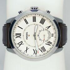 FTW1118 Fossil Grant Men's watch Silver 43 mm Adjustable Hybrid