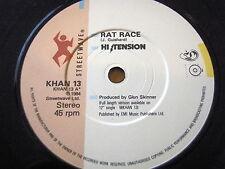 """HI TENSION - RAT RACE  7"""" VINYL"""