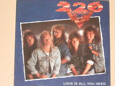 """220 VOLT -Love Is All You Need- 7"""" 45"""