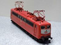 N SCALE FLEISCHMANN 7382 RED DB 151 IN CUSTOM WOOD SAFE BOX RUNS GREAT