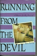 Running From the Devil by Steve Kissing  SIGNED 2003 Faith Family Fate Autobio
