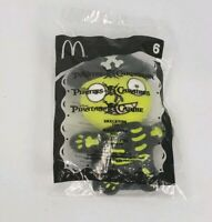 Mcdonalds Pirates of the Caribbean Skeleton Plush Stuffed Toy Doll Happy Meal