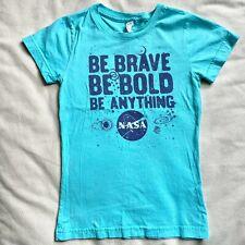 Girls NASA Slim Fit T Shirt ~ Size Large L 10 12 ~ Khols