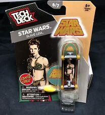 Tech Deck SLAVE LEIA Star Wars 6/7 toy skateboard Santa Cruz **RARE** BRAND NEW
