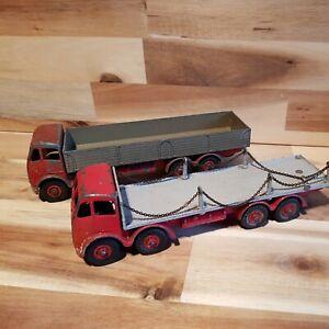 Vintage Dinky Toys Foden Lorries 905  + 901 used