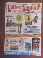 COLLECTIONNEUR CHINEUR N°244 avri 2017 plaques émaillées, mickey, lego fabuland