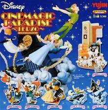 Yujin DISNEY Cinemagic Paradise PRIMO Gashapon Figures 6 set Peter Pan Mickey