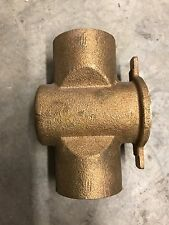 """White Rodgers 3/4""""  Brass Hydronic Sweat Zone Valve T fits 1311-102,1361-102 New"""