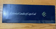 """Colonial Candle Of Cape Cod 4 Candles 16"""" In Tall Each"""