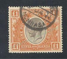 Kenya Britannique YV. N° 18 TTB cote 250€