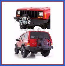Smittybilt XRC Front & Rear Bumper w/ Tire Carrier for 84-01 Jeep Cherokee XJ