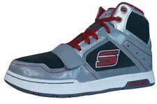 Baskets décontractées gris Skechers pour garçon de 2 à 16 ans