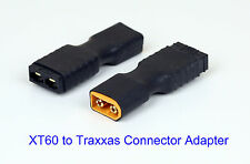 2x Traxxas to XT60 Adapter for Maxx Revo Spartan Bandit Car Boat Helicopter Quad