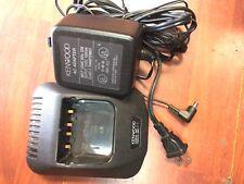 Genuine OEM Kenwood Model KSC-24 Rapid Desktop Charger For TK Series Radios