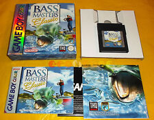 BASS MASTERS CLASSIC Game Boy Color Versione Europea ○○○○○ COMPLETO
