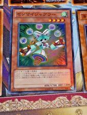 YUGIOH JAPANESE SUPER RARE HOLO CARD CARTE GENF-JP015 Wind-Up Juggler OCG TCG **