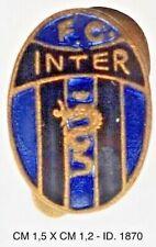 Football Club Inter distintivo pubblicitario società calcio