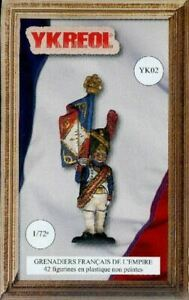YKREOL 1/72 FRENCH EMPIRE GRENADIERS (42) 2
