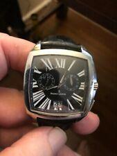 Maurice Lacroix Miros Coussin Reveil Steel Quartz Watch MI5027