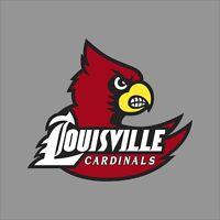 Louisville Cardinals NCAA College Vinyl Decal Sticker Car Window Wall