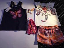 Gymboree Spice Market shorts top hair jewelry set lot outfit bracelet 3 4 3T NWT