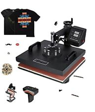 Morphorn Digital Multi functional Sublimation Heat Press Machine 15x15 8 in 1