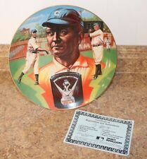 Cy Young Sports Superstars Collectors Plate by Ron Lewis # 6 of 10,000